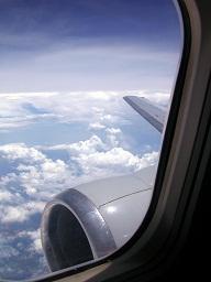 Mit dem Flugzeug nach Spanien